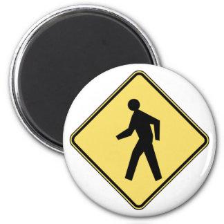 Pedestrian Crossing Magnet