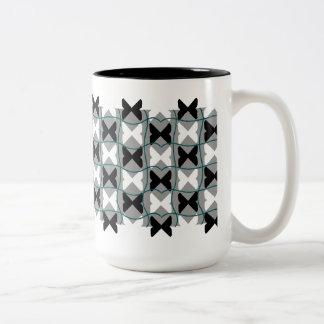 Pedia / Black 444 ml  Two-Tone Mug