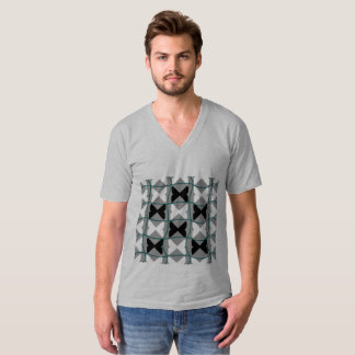 Pedia / Men's American Apparel Fine Jersey V-neck T-Shirt