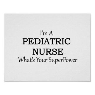 PEDIATRIC NURSE POSTER