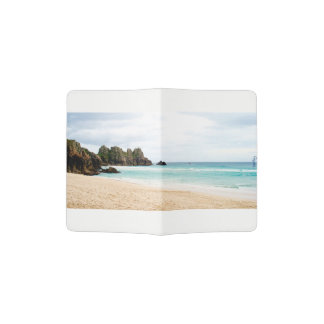 Pedn Vounder, Cornwall Beach Passport Case Passport Holder