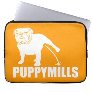 {Pee On} PUPPYMILLS BULLDOG Laptop Computer Sleeve