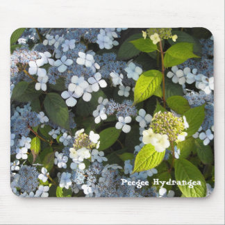 Peegee Hydrangea Mouse Pads