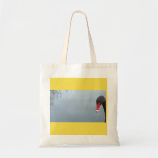 Peek-A-Boo - a cheeky swan Tote Bag
