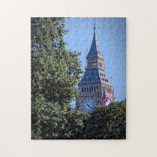 Peek-a-Boo - Big Ben Above the Trees Puzzle