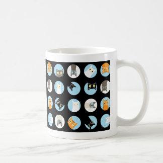 peek-a-boo cats coffee mug