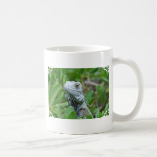 Peek-a-boo Iguana Coffee Mug