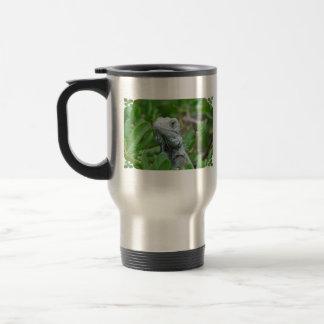 Peek-a-boo Iguana Travel Mug