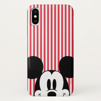 Peek-a-Boo Mickey Mouse iPhone X Case
