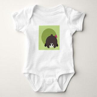 Peek A Boo Panda - Baby bodysuit