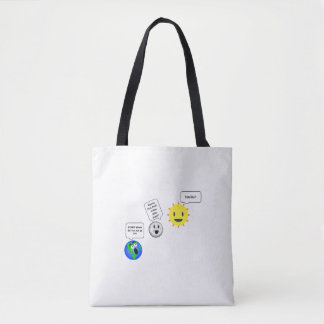 "Peek-A-Boo Solar Eclipse ""Totality""  Bag"