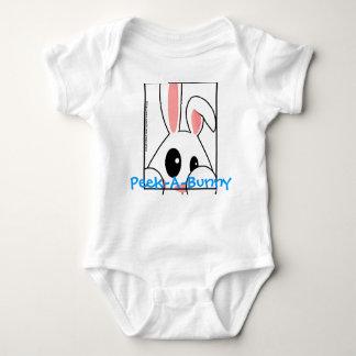 Peek-A-Bunny Baby Bodysuit