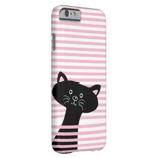 Peekaboo! Cute Black Cat Phone Case
