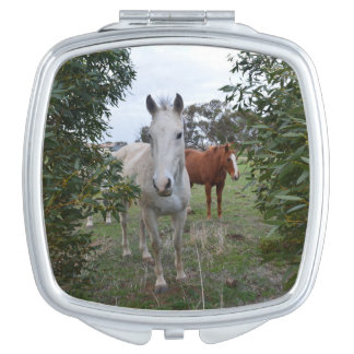 Peekaboo Horses, Travel Mirror