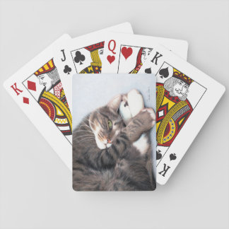 Peekaboo Kitty Playing Cards