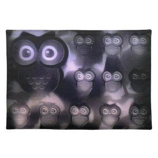 Peekaboo Owls Placemat