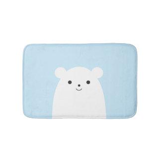 Peekaboo Polar Bear Bath Mat