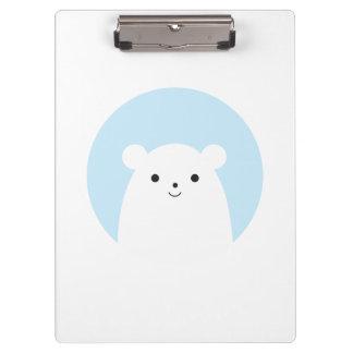 Peekaboo Polar Bear Clipboard