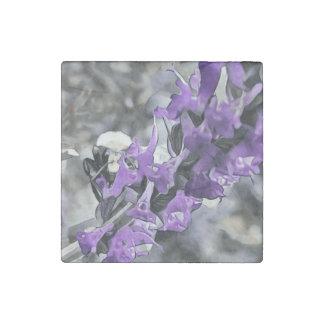 Peeking Bumblebee Stone Magnet