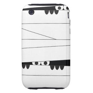 Peeking Mummy Tough iPhone 3 Covers