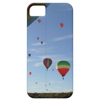 Peeking out barely there iPhone 5 case