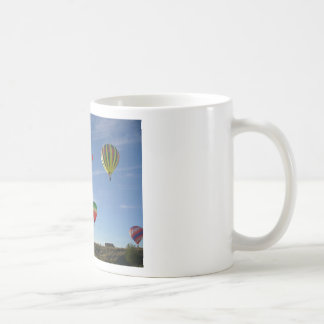 Peeking out coffee mug