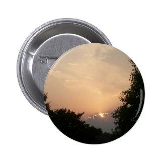 Peeking Sun Button