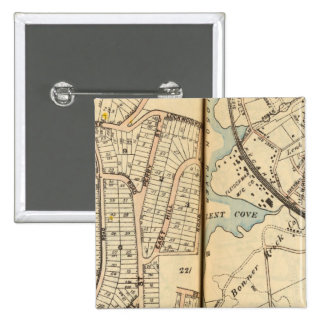 Peekskill, New York 15 Cm Square Badge
