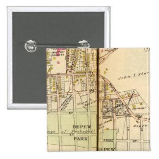 Peekskill, New York 4 15 Cm Square Badge