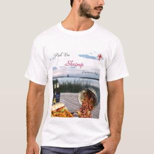 Louisiana Shrimp Gifts T-Shirts & Shirt Designs   Zazzle com au
