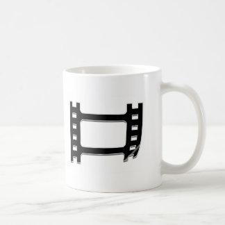 Peeling film strip basic white mug