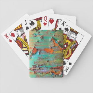 Peeling Paint Playing Cards