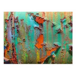 Peeling Paint Postcard