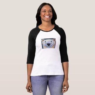 Peeping Polar Bear T-Shirt