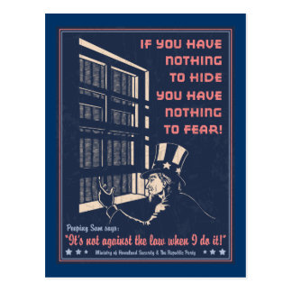 Peeping Sam Postcard