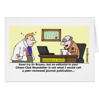 Peer-Reviewed Publication Card