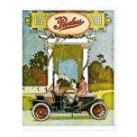 Peerless Motor Company Vintage Classic Car Ad Post Cards