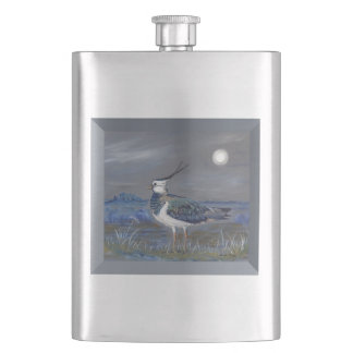 Peewit Lapwing countryside castle Flask