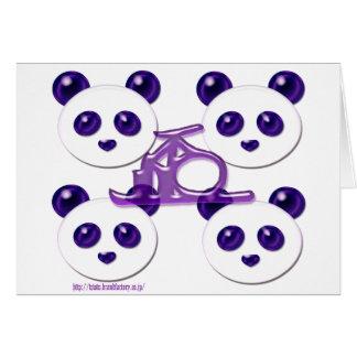 pega panda 8 card