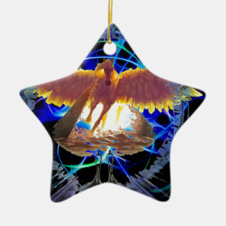 PEGASUS 333 CERAMIC STAR DECORATION