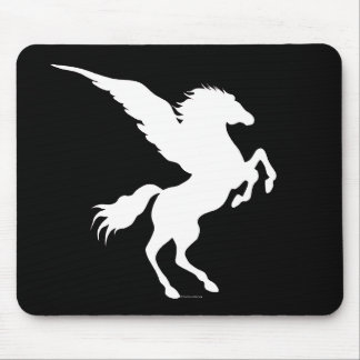 Pegasus Black Mousepad