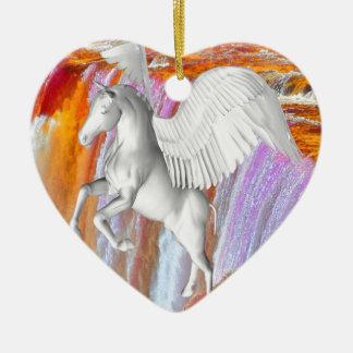 Pegasus Ceramic Ornament
