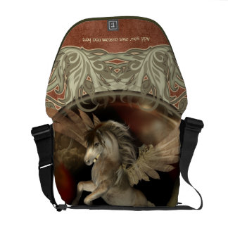 Pegasus Fantasy Art Messenger Bag
