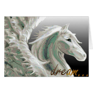 Pegasus Flight Greeting Card