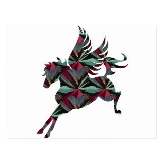 Pegasus Horse Postcard