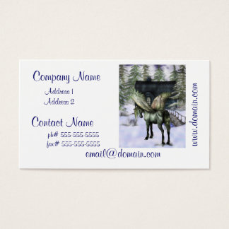 Pegasus in Forest Business Cards