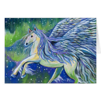 Pegasus In Northern Light Card