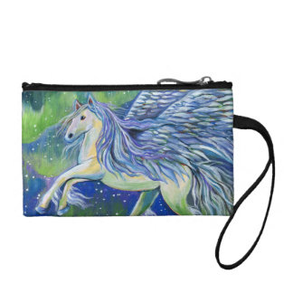 Pegasus In Northern Light Coin Purse