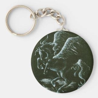 Pegasus Key Ring