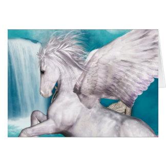 Pegasus Note Card